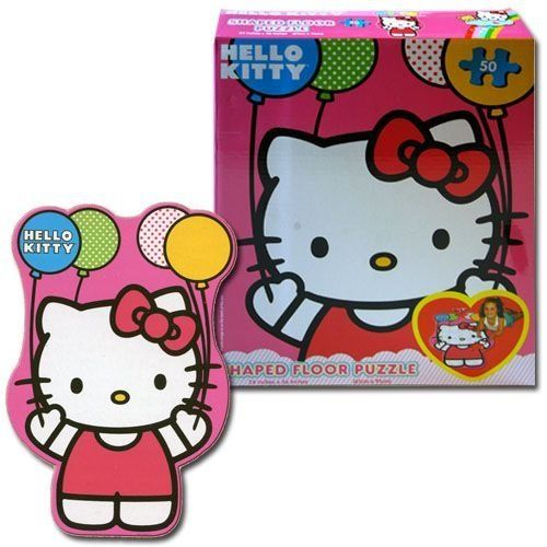 Hello Kitty Shaped Floor Puzzle